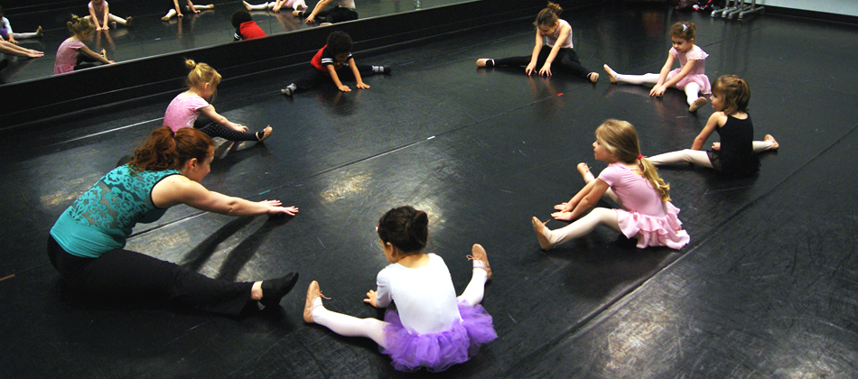 Evergreen Dance Academy Young Children's Movement and Dance Classes